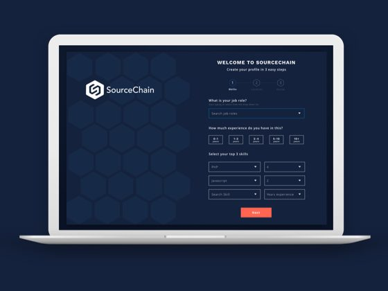 SourceChain Candidate UI